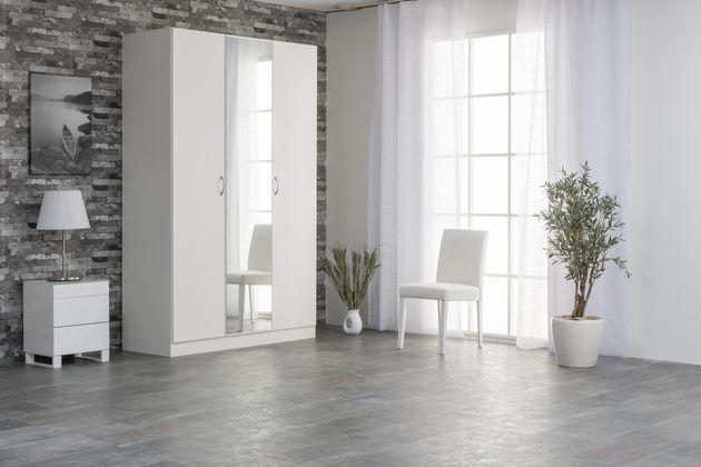 Doorit Basic komero (3-osainen) / Liukuovikomerot / Säilytyskalusteet / Komerot ja kaapistot / Tuotteet / Maskun Kalustetalo