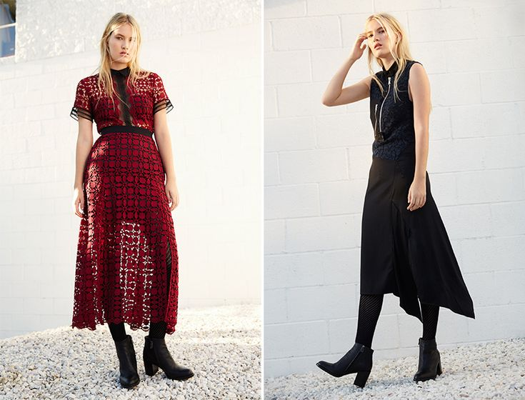 Rich textures, lush jewel tones, and modern shapes—these are the fundamentals of the kind of form-meets-function dresses that never get old. What's more, fall affords room to go big with embellishments, meaning layering over crochet …
