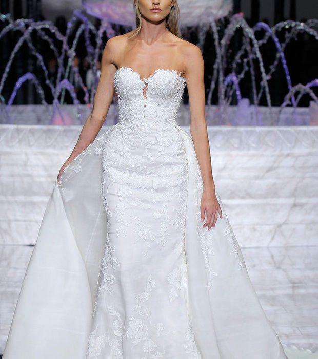 Robe de mariée 2018 - Robe avec jupon amovible, Pronovias