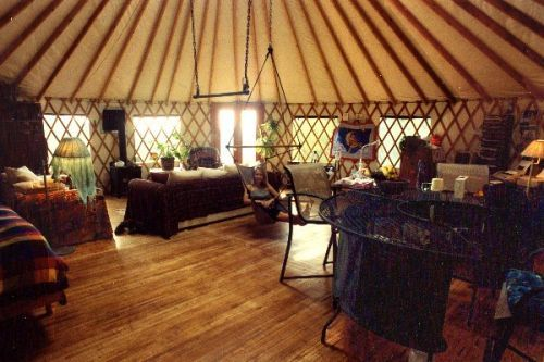 Yurts Of Hawaii: Trapeze And Hammock Chair. LOVE IT!!