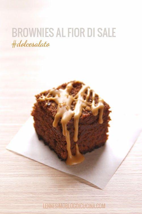 Brownies con Glassa di Burro d'Arachidi