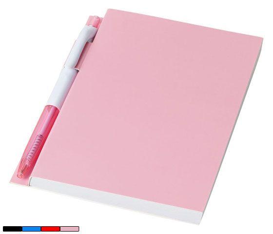 Libreta Baldwin. Paperback cuaderno encuadernado con 100 páginas pautadas. Incluye un bolígrafo. Desde 1,27 € en www.areadifusion.com
