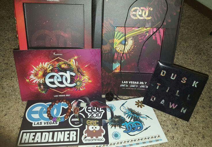 My Tix Came! Edc tickets box  2017!