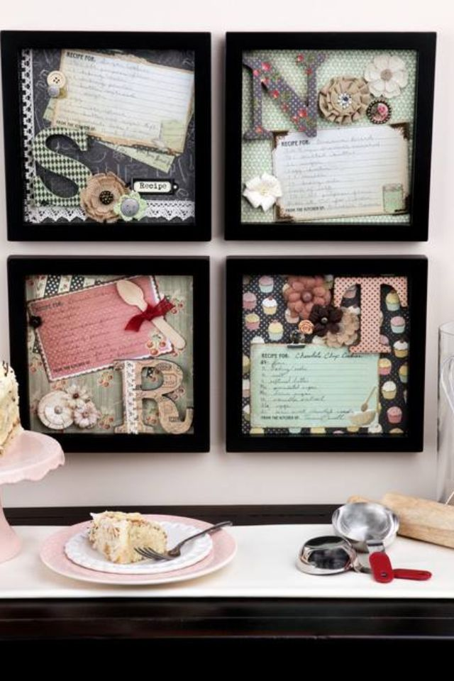 Display old recipes
