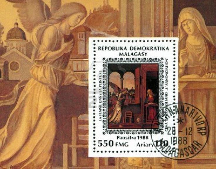 ARTIST STAMPS / Cima da Conegliano 1988