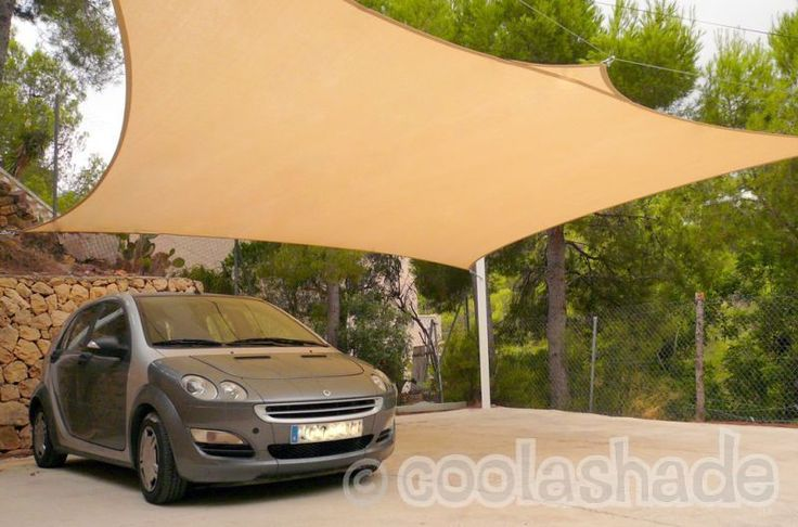 carport sails | Carport Shade Spain with Shade Sails