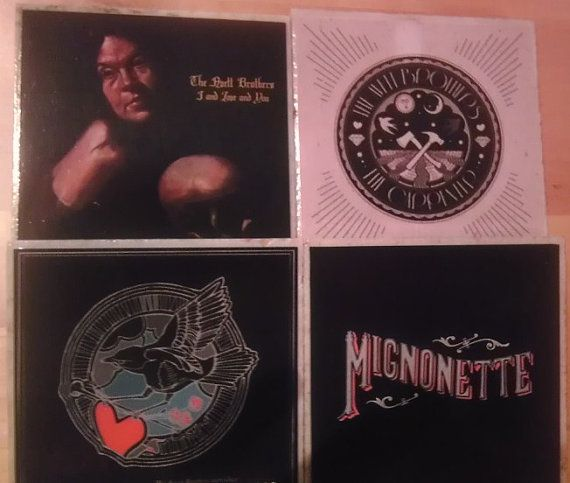 Hey, I found this really awesome Etsy listing at https://www.etsy.com/listing/121223421/the-avett-brothers-album-cover-coasters