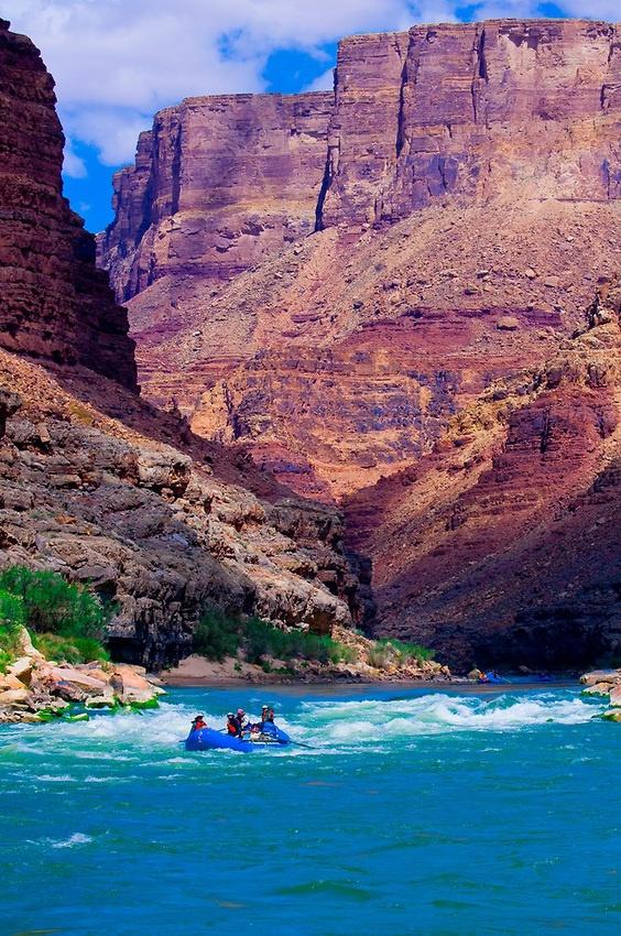 Tiger Wash Rapid, Marble Canyon, Grand Canyon National Park, Arizona