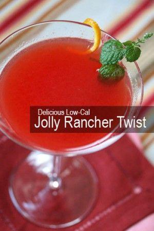 100 calorie martini using fresh watermelon juice