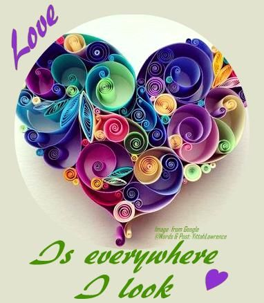 ❥ Choose to see #Love ❥ everywhere, ❣ #choosepeace  & to see #Love ❣ everywhere,