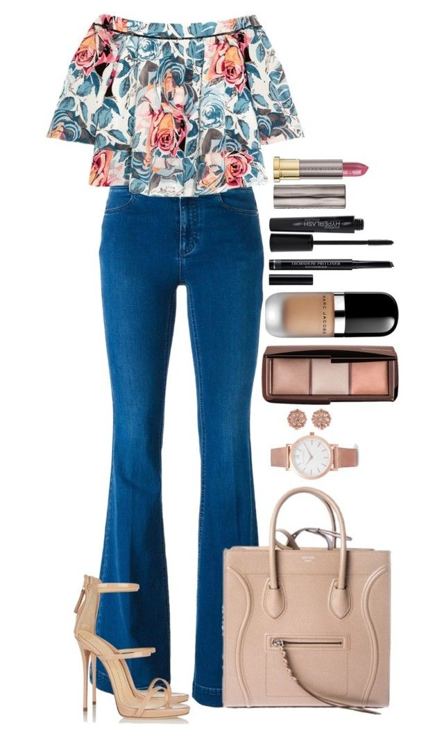 Untitled #1531 by fabianarveloc on Polyvore featuring polyvore fashion style Elizabeth and James STELLA McCARTNEY Giuseppe Zanotti CÉLINE Larsson & Jennings Carolee Marc Jacobs Urban Decay Christian Dior Smashbox clothing