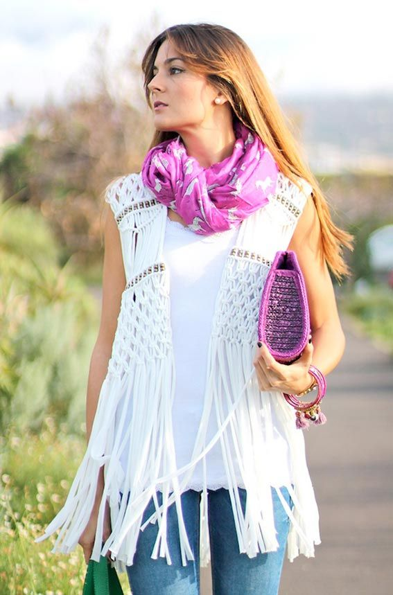 trying to find the pattern for this macrame vest