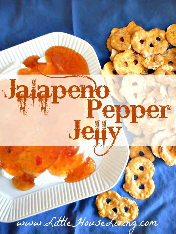 Jalapeño Pepper Jelly Recipe | Little House Living | How to make your own delicious Jalapeno Pepper Jelly Recipe! This recipes uses fresh veggies for an amazing jelly that you can put together quickly.http://www.littlehouseliving.com/jalapeno-pepper-jelly-recipe.html