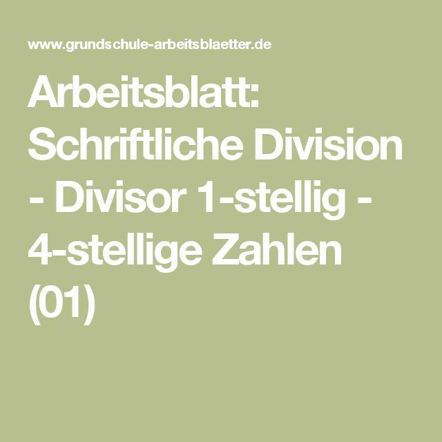 Famous Zweistellige Divisor Arbeitsblatt Picture Collection - Mathe ...