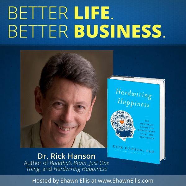 Author Interview and Book Giveaway: Dr. Rick Hanson shares lessons from his new book, Hardwiring Happiness, to help you enjoy more happiness in your everyday experiences. Leave a comment on the blog post for your chance to win a free copy.
