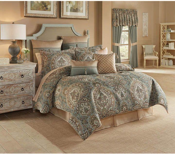 Croscill Rea 4 Pc King Comforter Set Bedding Ad Homedecor Homestyle Homedecorideas Bedroomdecor Ma Bed Comforter Sets Comforter Sets Comfortable Bedroom King sheet sets on sale