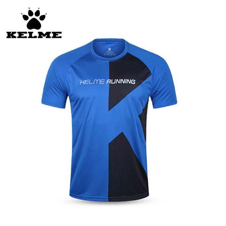 KELME New Quick Dry Fit Men Running Shirts For Men In Polyester Running T-Shirt Summer Tops Soccer Jerseys Moisture Wicking 28 #Affiliate