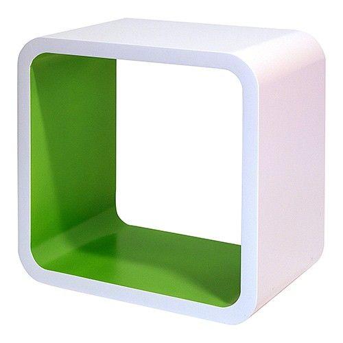 Dekorkube - White/Green