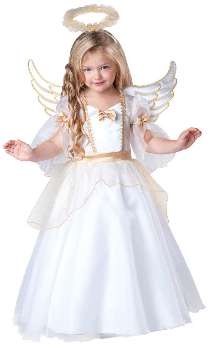 Toddler Girls Angel Costume | Costume Craze