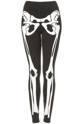 Skele Leggings By Tee And Cake