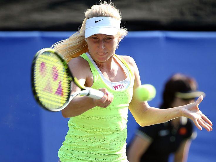 Daria Gavrilova, originally from Russia, is the freshest face on the Australian tennis scene