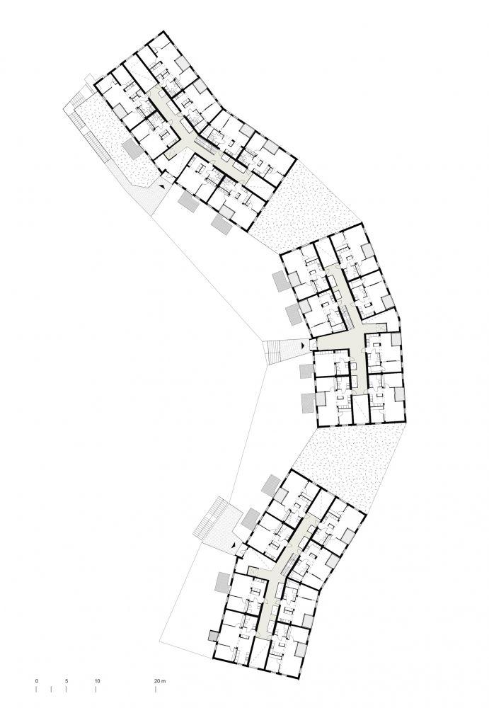 Puukuokka Housing Block  / OOPEAA