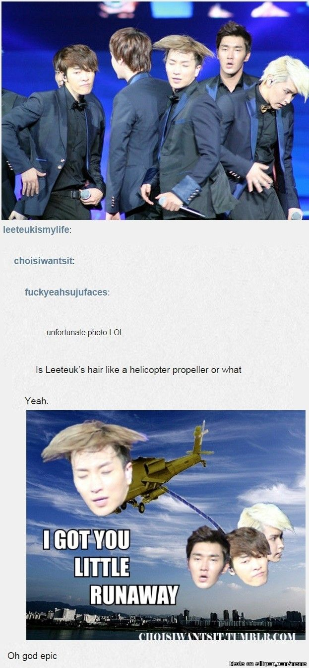 What the what?! bahaha This has reached levels of epicness never thought achievable. | Super Junior