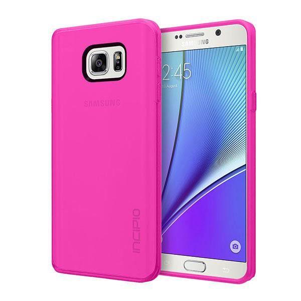 Incipio Samsung Galaxy Note 5 NGP Case - Translucent Pink