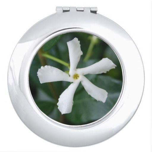 Star Jasmine Compact Mirror