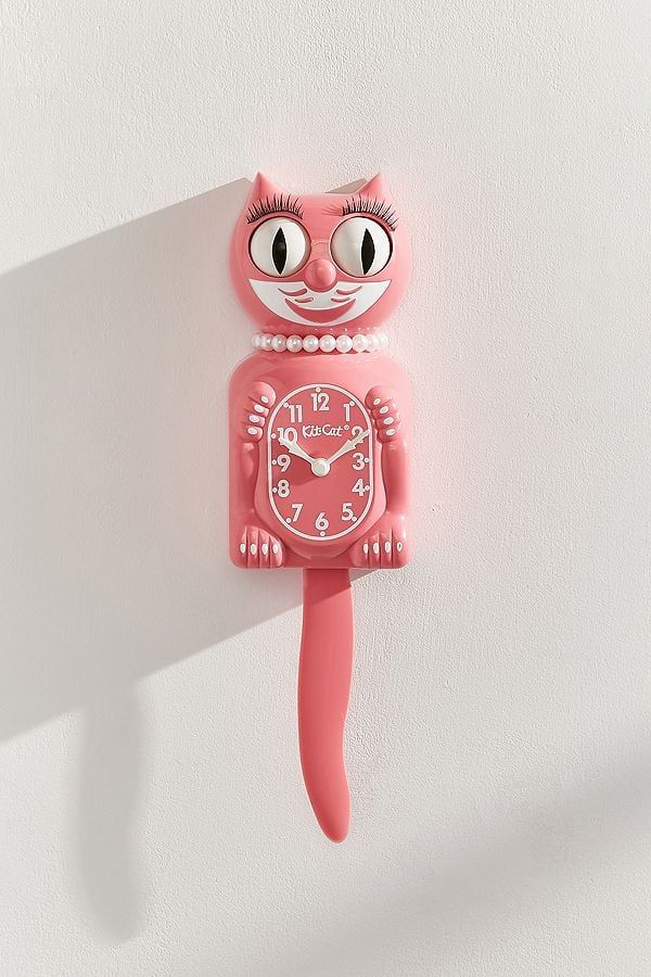 40 Fun And Unique Gifts They Ll Never See Coming But Be Totally Obsessed With Kit Cat Clock Cat Clock Clock