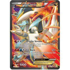 Carte Pokémon Kyurem Blanc Ex - 180pv - 146/149 Ultra Rare - Frontières Franchies