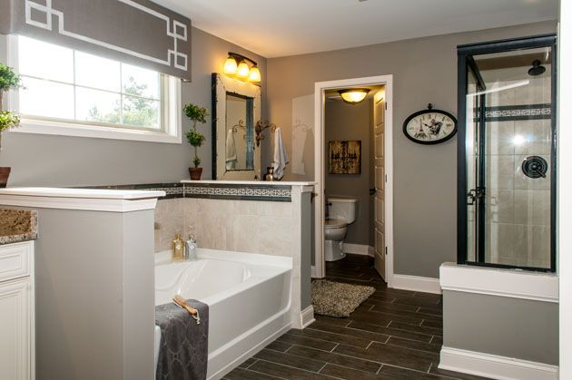 Fischer homes keller master bathroom new house for Pictures of master bathrooms in new homes