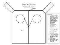 clothes divider template top 25 ideas about diy baby closet dividers on pinterest
