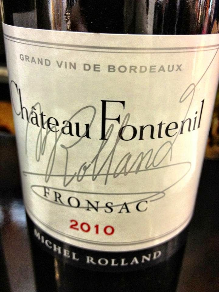 El Alma del Vino.: Château Fontenil 2010.