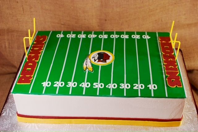 17 Best Ideas About Redskins Cake On Pinterest Redskins