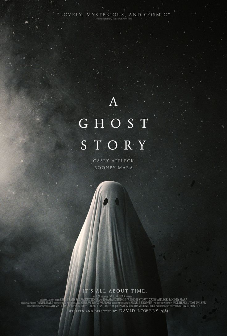 A Ghost Story (2017 dir. by David Lowery) In this singular exploration of legacy, love, loss, and the enormity of existence, a recently deceased, white-sheeted ghost returns to his suburban home to try to reconnect with his bereft wife. Director: David Lowery Writer: David Lowery Stars: Casey Affleck, Rooney Mara, McColm Cephas Jr. |