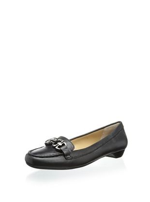 65% OFF Adrienne Vittadini Women's Chitown Slip-On Loafer (Black)