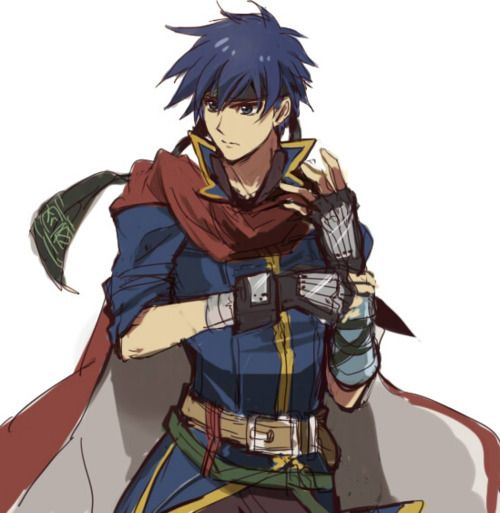 Fire Emblem: Radiant Dawn - Ike << This is Path of Radiance Ike. RD Ike is super buff.