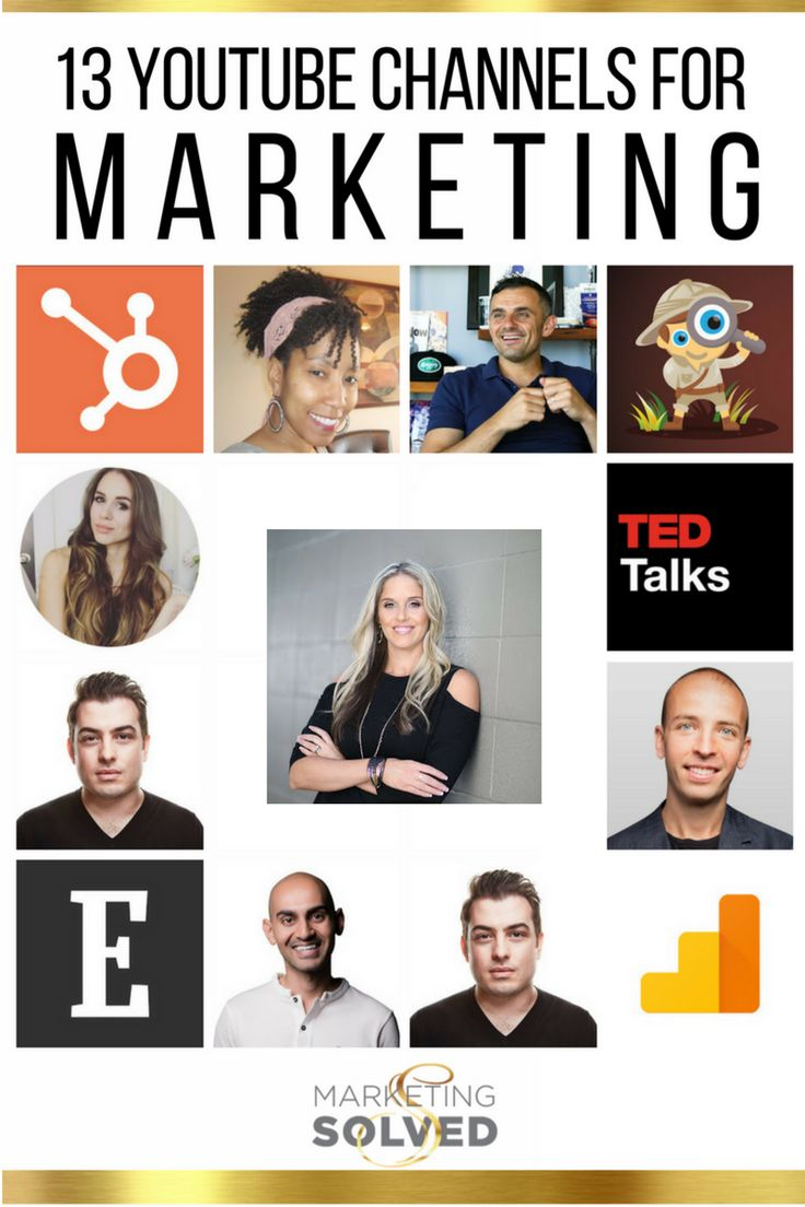 13 YouTube Channels to Inspire Your Marketing // YouTube Marketing // YouTube Marketing Channels // YouTube Marketing Vlogs