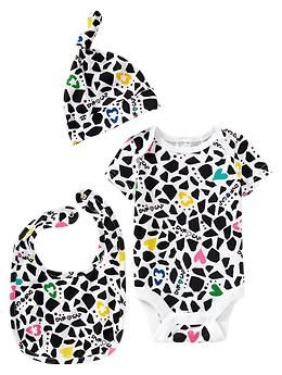Diane von Furstenberg ♥ babyGap 3-piece set - Fashion icon Diane von Furstenberg takes us on a voyage of discovery with her colorful collection featuring exotic prints and patterns that embraces the explorer from newborn to 14 years old.
