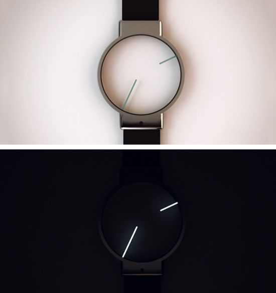 Minimal Analog Watch Design. I want this watch soo bad