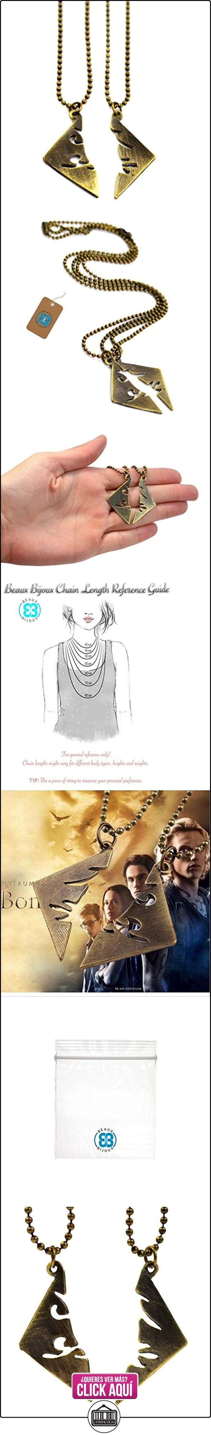 Beaux Bijoux - Juego de collares de Cazadores de Sombras: Ciudad de Hueso  ✿ Joyas para mujer - Las mejores ofertas ✿ ▬► Ver oferta: http://comprar.io/goto/B01AV1AKI4