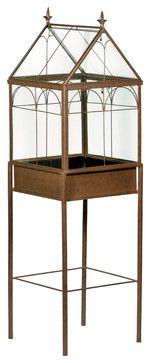 Wardian Case Terrarium traditional-terrariums