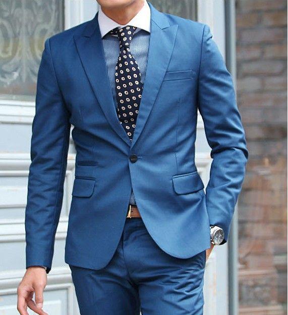 Wool Man Sute Wedding: 25+ Best Ideas About Blue Wedding Suits On Pinterest
