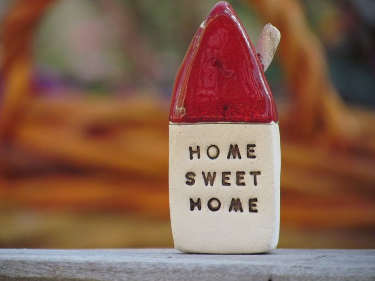 Home Sweet Home Message house from orlydesign Etsy shop