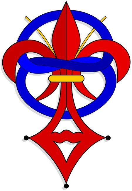 Symbol Believed to be of the Priory of Sion http://searchoflife.com/the-hidden-treasures-of-rennes-le-chateau-2014-08-23