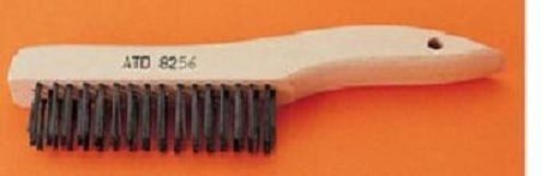 """Advanced Tool Design Model  ATD-8256  10"""" Short Handle Scratch Brush by ATD. $5.48. For removing paint, rust, scale, solder, dirt and for cleaning metal parts, files, etc."""