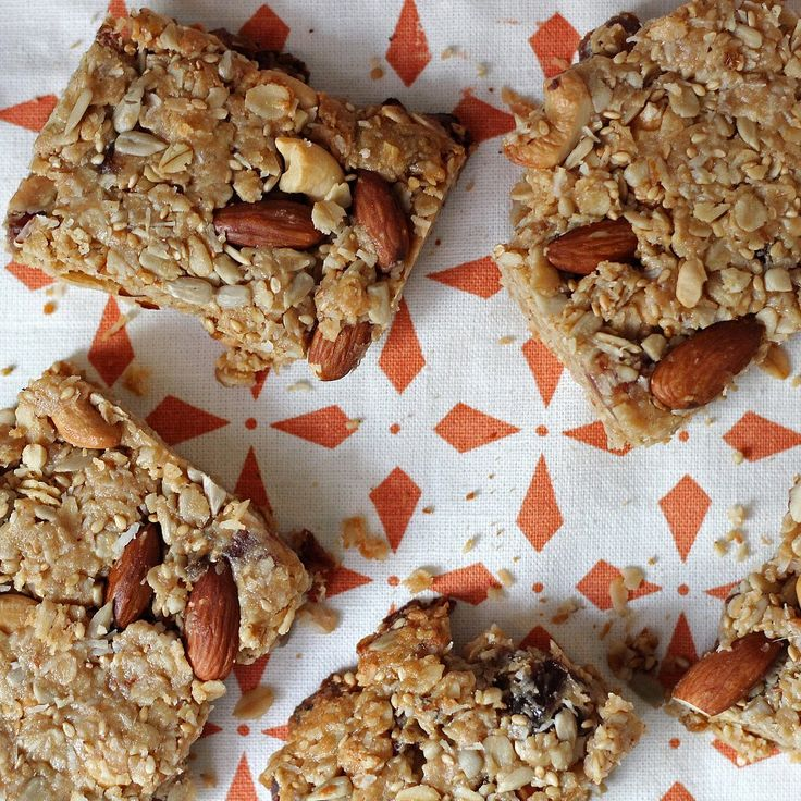 14 Homemade and HealthyEnergy Bars: Whether you're on the go running errands or need a pick-me-up pre-workout, an energy bar is a perfect handy and healthy treat.