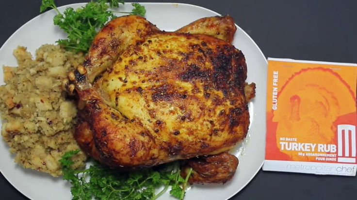 METROPOLITAN CHEF PRESENTS ROASTED CHICKEN WITH OUR TURKEY RUB!