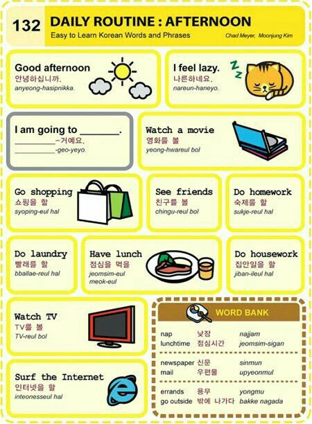 how to learn korean words easily